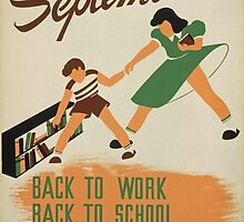 Back to School, Back to Work, Back to Books by Vintagee