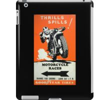 Motorcycle Races iPad Case/Skin