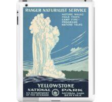 Yellowstone National Park iPad Case/Skin