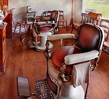Barber - Please have a seat by Mike  Savad