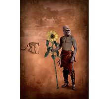 The man who loved flowers and apes Photographic Print