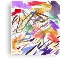 red splotch Canvas Print