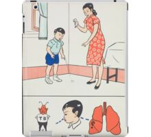 Cover Your Mouth, Taiwan iPad Case/Skin