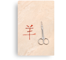 chinese love Canvas Print