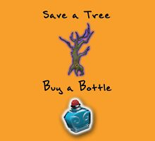 Save a Tree, Buy a Bottle - Print - DOTA2 Unisex T-Shirt