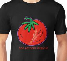 100 Percent Organic (Tomato Tee) Unisex T-Shirt