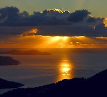 St. John Sunrise by Stephen Vecchiotti
