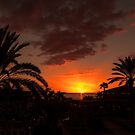 Costa Adeje Sunset by Lynne Morris