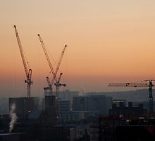 Sheffield: City of Cranes by incurablehippie