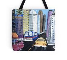 Uncle Eddy's Yellow Taxi Tote Bag