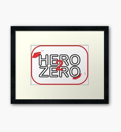 Hero2Zero Films  Framed Print