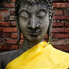 Yellow Buddha by Walter Quirtmair