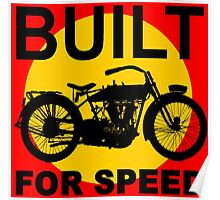 BUILT FOR SPEED-3 Poster