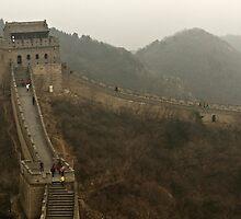 The Great Wall Of China At Badaling - 4 © by © Hany G. Jadaa © Prince John Photography