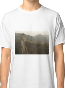 The Great Wall Of China At Badaling - 4 © Classic T-Shirt