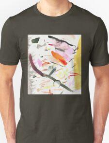 yellow streak Unisex T-Shirt