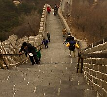 The Great Wall Of China At Badaling - 5 - The Insanity © by © Hany G. Jadaa © Prince John Photography