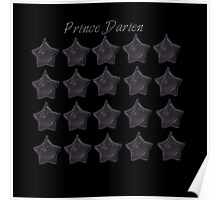 Prince Darien. Tuxedo Mask, sailor moon Black star locket Poster