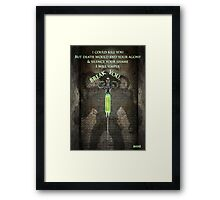 Gotham Rogues Bane  Framed Print