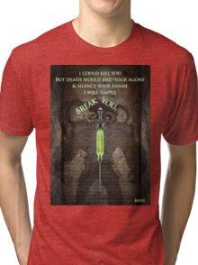 Gotham Rogues Bane  Tri-blend T-Shirt