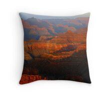 Grand Canyon Pastels Throw Pillow