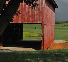 Barn with a View by AppalachianPics