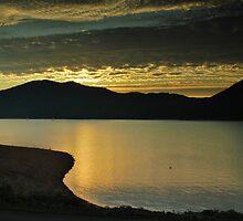 Sunset on Lake Watauga by AppalachianPics