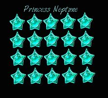Princess Neptune, Sailor Neptune, sailor moon aqua blue star locket by shesxmagic