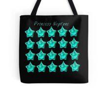 Princess Neptune, Sailor Neptune, sailor moon aqua blue star locket Tote Bag