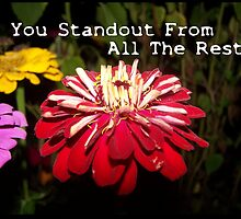 You Standout Above All The Rest.... by Jonice