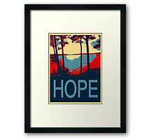 Hope 2-Available In Art Prints-Mugs,Cases,Duvets,T Shirts,Stickers,etc Framed Print