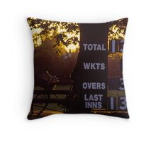victory by six Throw Pillow