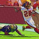 Clinton Portis in Action by tmn67