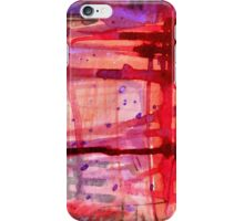 mostly red with purple iPhone Case/Skin