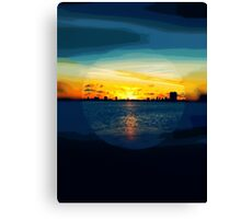 Time For Breakfast Canvas Print