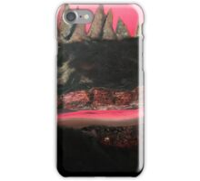Crow and Mountains and Sky and Tongue iPhone Case/Skin