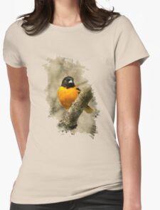 Baltimore Oriole Watercolor Art T-Shirt