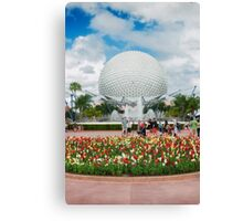 Epcot in Spring Canvas Print
