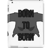 """Skyrim - Dragonborn """"Born to Burn"""" iPad Case/Skin"""