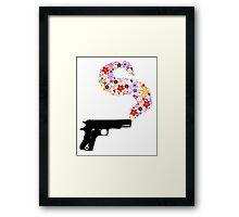 The Smoking Gun Framed Print