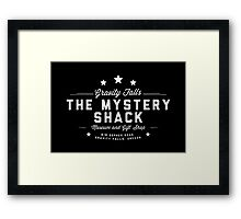 Gravity Falls - The Mystery Shack Framed Print