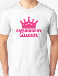 Embroidery Queen T-Shirt