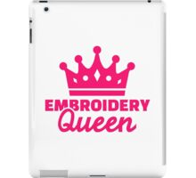 Embroidery Queen iPad Case/Skin
