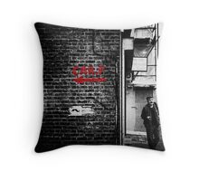 gone fishing (Selective Colour) Throw Pillow