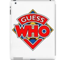 """Guess Who"" Design iPad Case/Skin"