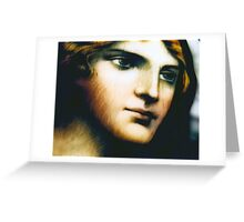 Angel - Stained Glass - Companion Portrait Greeting Card
