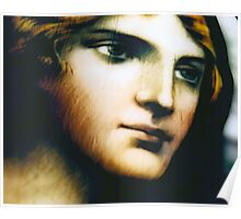 Angel - Stained Glass - Companion Portrait Poster