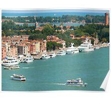 Venice lagoon Poster
