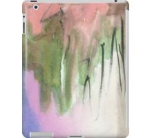 green and pink iPad Case/Skin