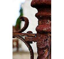 Rusted Iron Photographic Print